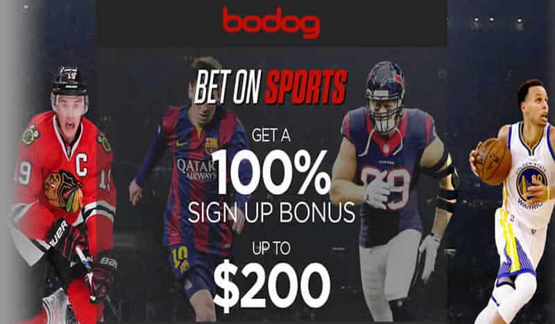 Bodog Bonus Page