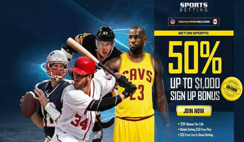 Sportsbetting.ag Bonus